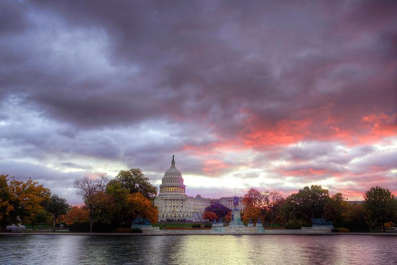 US Capitol at Sunrise