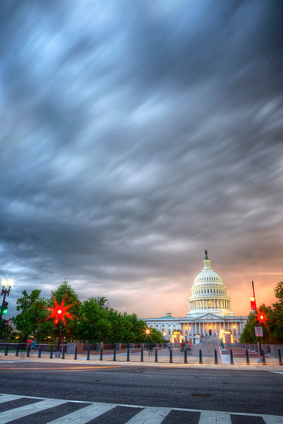 Stormy Clouds at the Capitol