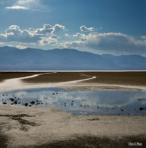 Death Valley, CA - Badwater Basin is the lowest point in North America, with an elevation of 282 ft (86 m) below sea level.