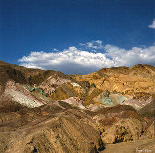 Death Valley - Artist's Drive and Palette