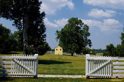 Shakerton, Kentucky - Outhouse, 1858