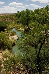 Back River, Loving, New Mexico