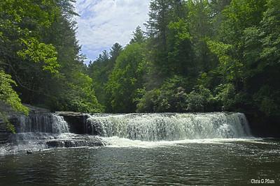 Brevard, North Carolina - Hooker Falls