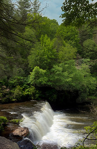 Brevard, North Carolina - Hooker Falls