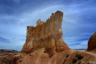 Bryce - Bryce Point, Under the Rim Trail  Utah