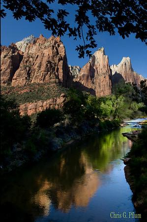 Zion - The Virgin River Utah
