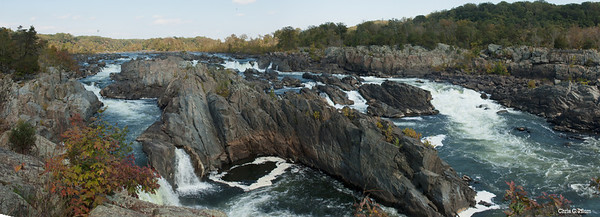 Great Falls National Park, Virginia - Here the Potomac River builds up speed and force as it squeezes through a narrow gorge.