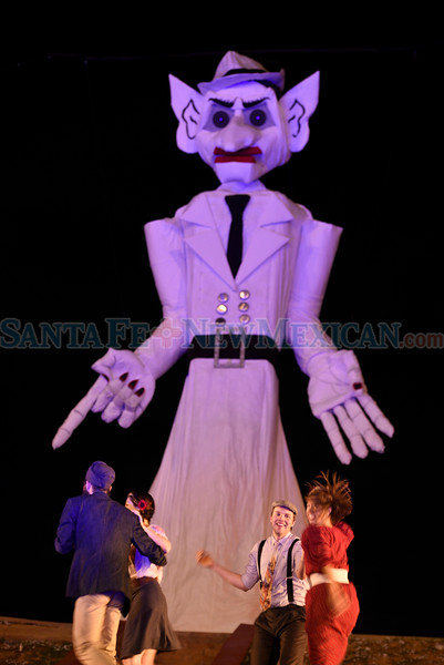 92nd Annual of Will Schuster's Zozobra at Ft. Marcy Park on Friday September 02, 2016. Photo by Luke E. Montavon/For The New Mexican