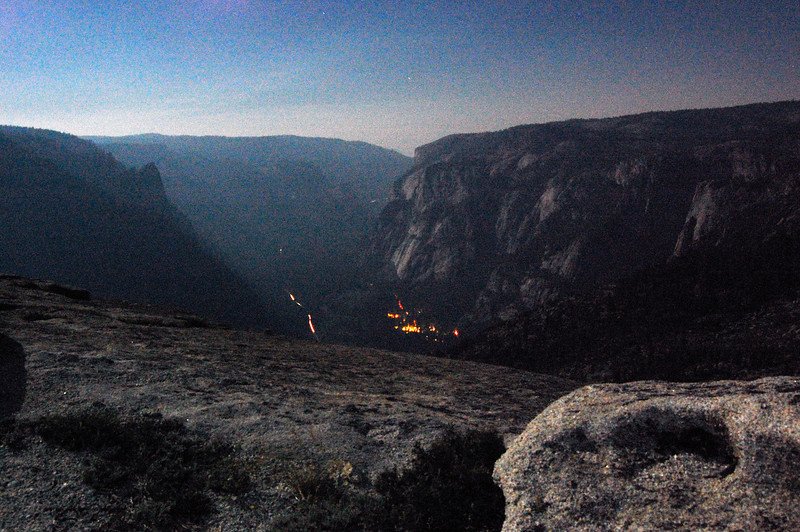 Yosemite Valley lights