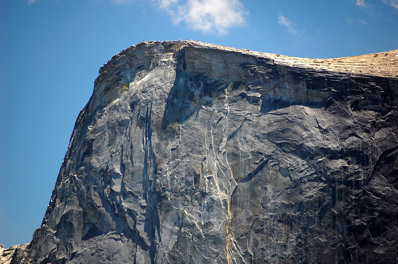 Half Dome: Can you see the people?