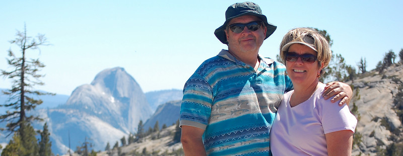 Mom, Steve, Half Dome