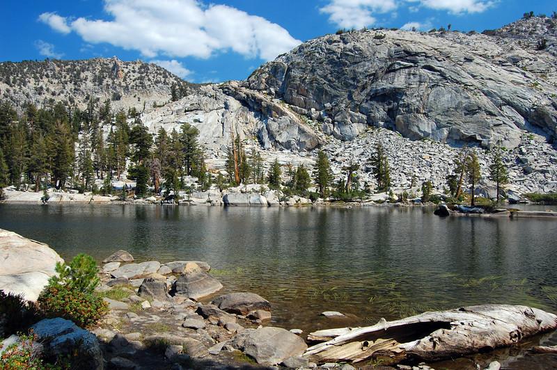 Grant Lake. 9500' elevation