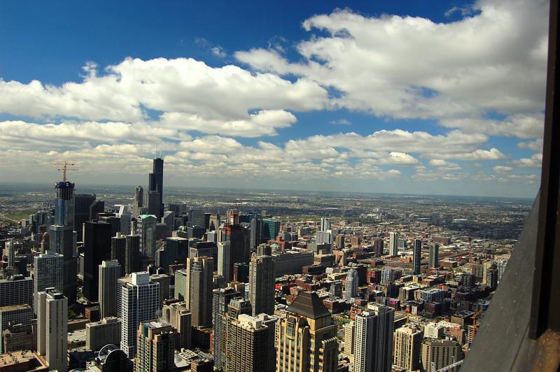 The 95th floor of the John Hancock Building