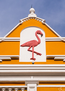 Building Detail, Kralendijk, Bonaire, June 2019.