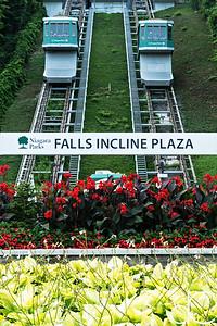 Falls Incline Railway, Niagara Falls, Ontario, Canada, August 2018.