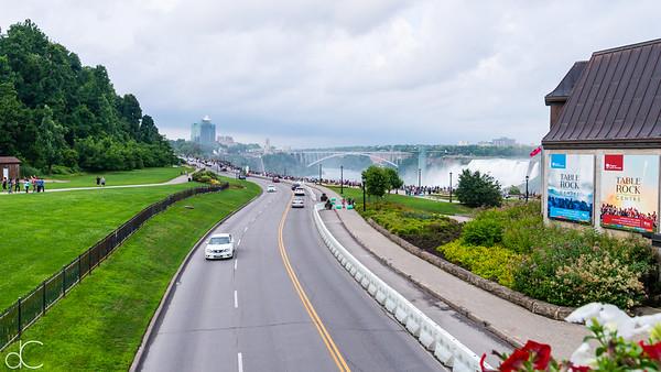 The Niagara Parkway, Niagara Falls, Ontario, Canada, August 2018.