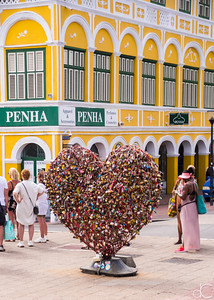 Punda Love Heart, Willemstad, Curacao, June 2019.