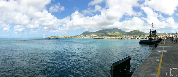 Port Zante, Basseterre, St. Kitts, May 2018.