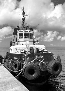 Tug, Port Zante, Basseterre, St. Kitts, May 2018.