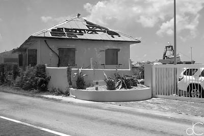 Hurricane Damage, St. Maarten, May 2018.