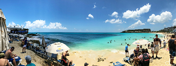 Maho Beach, Sint Maarten, May 2018.