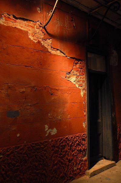 Door in New Orleans, Louisiana.