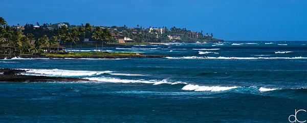 Poipu, Kaua'i, Hawai'i, June 2014.