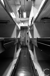 Sleeping Quarters, Battleship Missouri Memorial, Pearl Harbor, Hawai'i, June 2014.