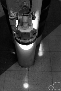 Column Light, Battleship Missouri Memorial, Pearl Harbor, Hawai'i, June 2014.