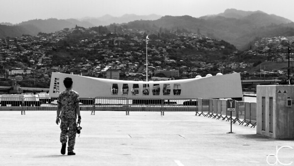 Shore Leave, Pearl Harbor, Hawai'i, June 2014.