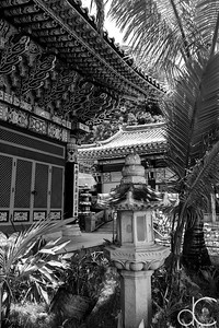 Mu Ryang Sa Temple, Hawai'i, June 2014.