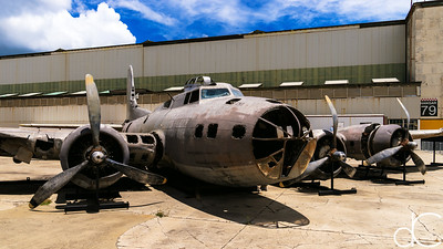 """Swamp Ghost"", Boeing B-17E Flying Fortress, Pearl Harbor, Hawai'i, June 2014."