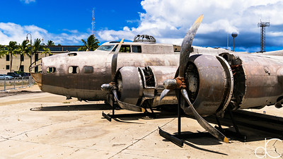 """Swamp Ghost"", Boeing B-17E Flying Fortress, Pearl Harbor, Hawi'i, June 2014."