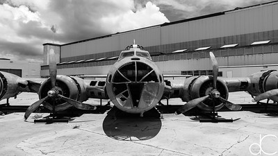 """Swamp Ghost"", Boing B-17E Flying Fortress, Pearl Harbor, Hawai'i, June 2014."