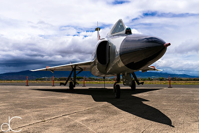 Convair F-102A Delta Dagger, Pearl Harbor, Hawai'i, June 2014.