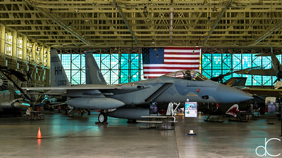 McDonnell Douglas F-15A Eagle, Pearl Harbor, Hawai'i, June 2014.
