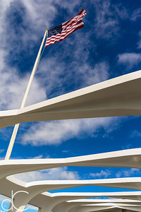From the Assembly Hall, USS Arizona Memorial, Pearl Harbor, Hawai'i, June 2014.