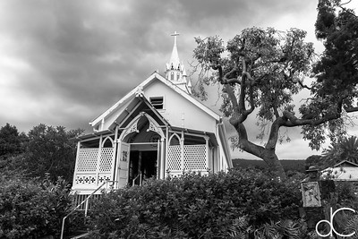 Saint Benedict Roman Catholic Church, Captain Cook, Hawai'i, June 2014.