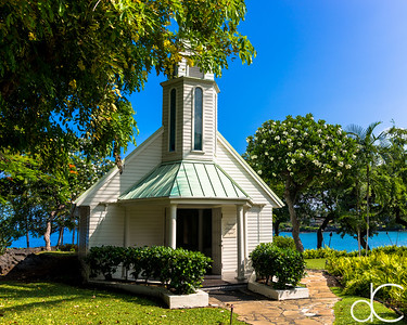 Bayside Wedding Chapel, Sheraton Kona Resort at Keauhou Bay, Hawai'i, June 2014.