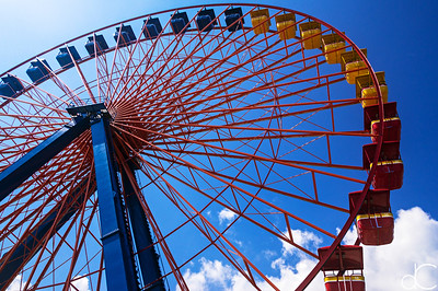 Giant Wheel, Cedar Point Amusement Park, August 2016.