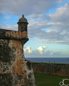 Visitors, Castillo San Felipe del Morro, Old San Juan, Puerto Rico, May 2018.