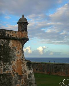 Visitors, Castillo San Felipe del Morro, Old San Juan, Puerto Rico, May 2018.