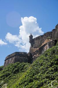 Castillo San Felipe del Morro, Old San Juan, Puerto Rico, June 2019.
