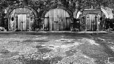 Puertas, Castillo San Felipe del Morro, May 2018.
