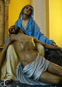 Pieta, Metropolitan Cathedral Basilica of Saint John the Baptist, May 2018.