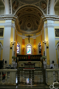 Interior, Metropolitan Cathedral Basilica of Saint John the Baptist, May 2018.