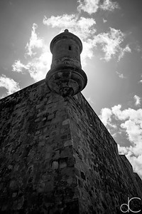 Sentry Box, Old San Juan, Puerto Rico, June 2019.