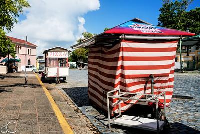 Calle Comercio, Old San Juan, Puerto Rico, June 2019.