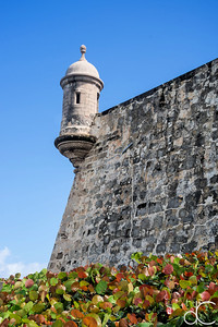 Sentry Box, Old San Juan, Puerto Rico, June 2019.