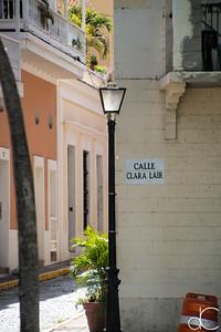 Calle Clara Lair, Old San Juan, Puerto Rico, June 2019.